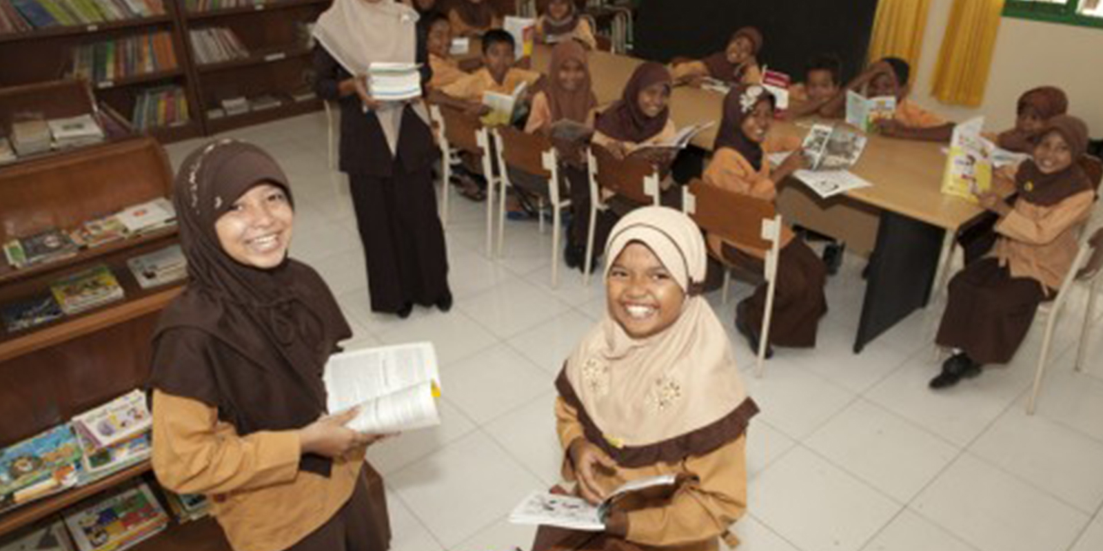 Rebuilding a tsunami-struck school – Indonesia
