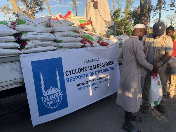 Islamic Relief food distributions have so far reached 200 families in Mozambique.