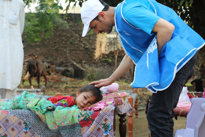 Islamic Relief teams are on the ground and providing support
