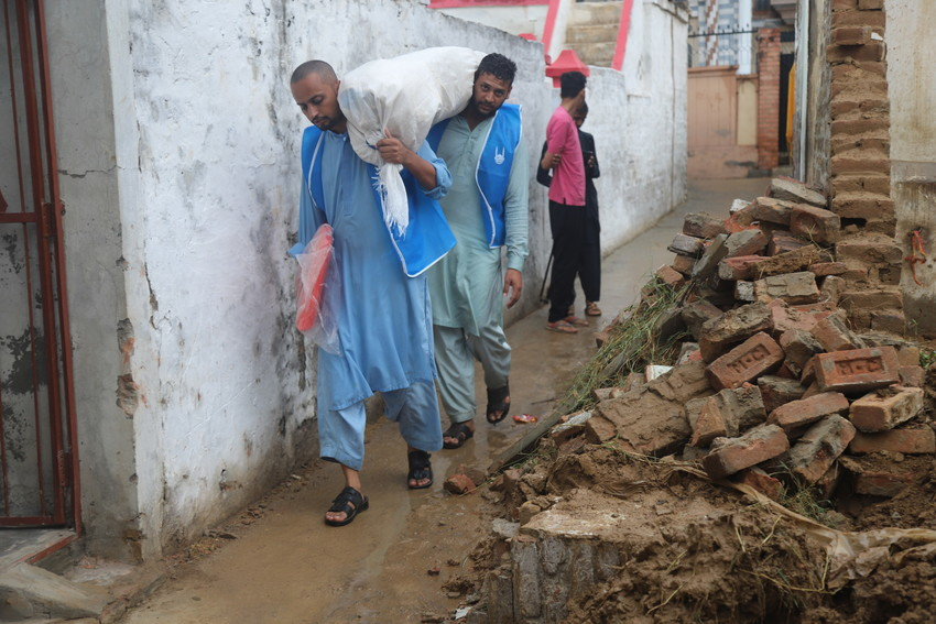 Islamic Relief teams are on the ground and providing immediate support and assistance