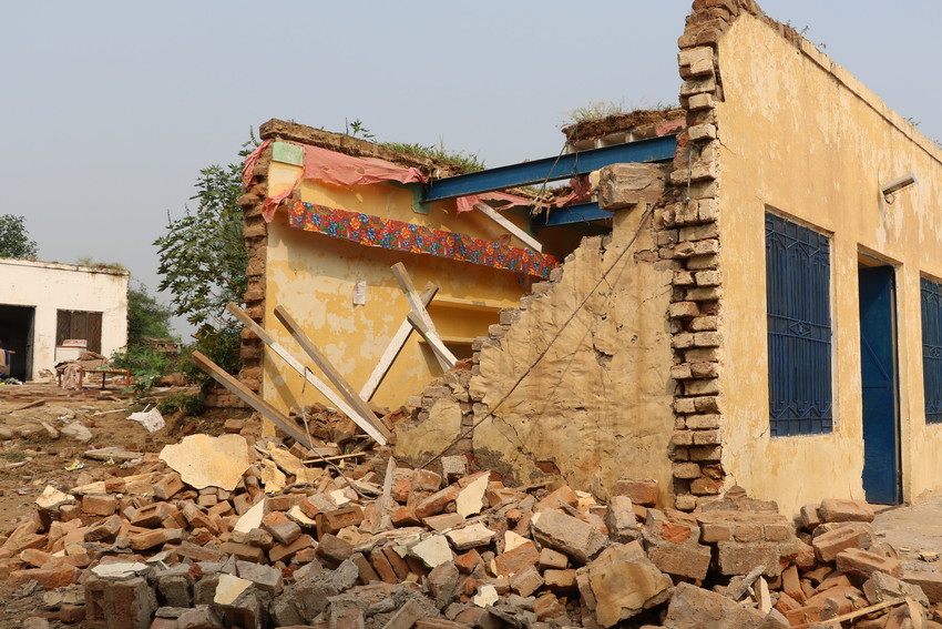 Thousands of homes have been damaged or destroyed.